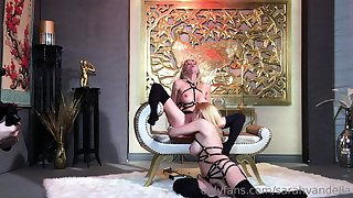 Harsch pansy domination slave lick mistress pain in the neck pussy