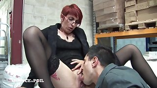Sexually Beloved Short Haired Redhead Ass Making out
