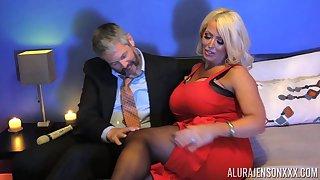 Voluptuous MILF Alura Jenson has an endless appetite for sex