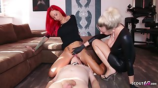 German Domina Let Slave Rendered helpless Mistress Teen Pussy To Org