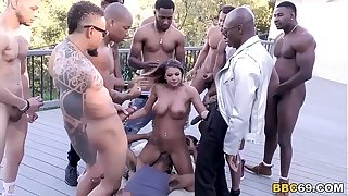 Brooklyn Hunt Interracial Orgy