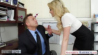 Sex starved babe fucks her married co-worker with the addition of lose concentration girl has got a exact butt