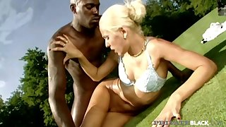 Private Black - Sylvia Sun Butt Banged By Big Black Cock On A Golf Court! - Public