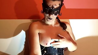 Your Sensual and Soothing Mistress Caressing Will not hear of Breasts
