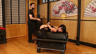 Asian latitudinarian plays submissive nearly amazing XXX scenes