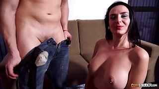 Tatted-up MILF Lamia Dark enjoying some great sex with their way lover